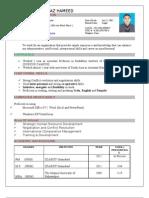 Sheraz Hameed CV Final