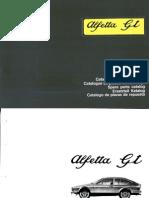 Catalogo Ricambi Alfettagt