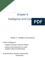 Presentation of Intelligence n Creativity