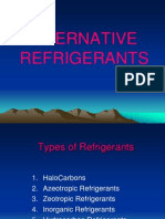 Alternative Refrigerants