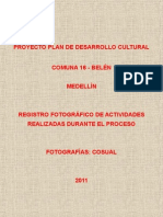 EVENTO DE SOCIALIZACIÓN PROYECTO 26-10-10