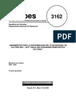 Documento CONPES No. 3162