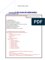 Modelo de Plan de Marketing 3BPL