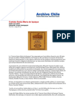 Cantata Santa Maria de Iquique-Textos Completos-Archivochile Com