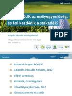 BellResearch - A digitális írástudás aktuális jellemzői, 2012
