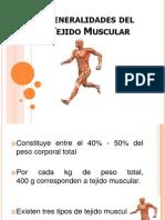 Generalidades Tejido Muscular