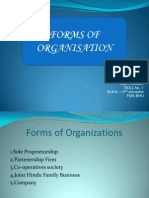 02 Forms of Organization
