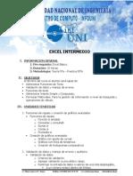 Silabo de Excel Intermedio