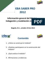 Charlas Informativas Modulo de Indagacion y Modelacion Cientifica