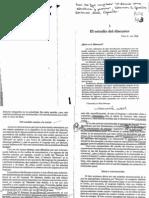 El Estudio Del Discurso - Teun a. Van Dijk