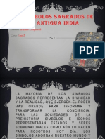 Los símbolos sagrados de la antigua india