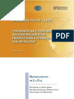 IndicadoresSociodemograficosProductivosFinancierosLaPaz