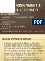 Capacitive Sensor Power Point