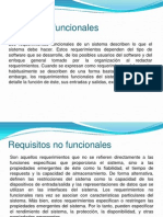 Requisitos Funcionales y No Funcionales