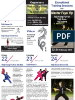 Master Faye Yip Course Brochure