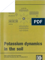 71 Potassium Dynamics in the Soil