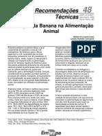 Utilização da Banana na Alimentação Animal