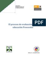 Proceso Evaluacion en Preescolar