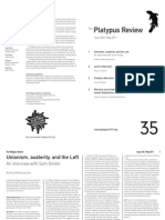 The Platypus Review, № 35 — May 2011 (reformatted for reading; not for printing)