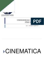 Cinematica y Mru