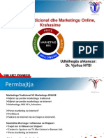 Marketingu Tradicional vs Marketingu Online