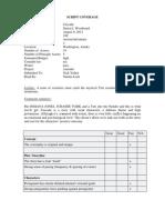 Script Coverage Sample