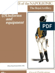 Soldiers of the Napoleonic Wars #7 - Uniforms and Equipment - The Royal Artillery