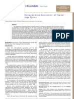Strategies for the Bioequivalence Assessment of Topical Dermatological Dosage Forms