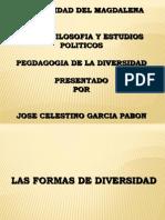 Presentacion Pedago.de La Diversidad