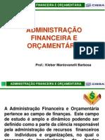 Administração Financeira - introdução