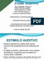Diapositivas de Sistema Audictivo