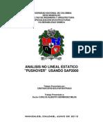 Trabajo Final Analisis No Lineal Estatico Pushover - Copia