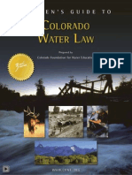 Citizens Guide to Colorado Water Law