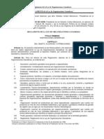 Reglamento de La Ley de Org. Ganaderas