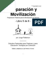 Preparacion y Movilizacion 5 de 9