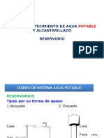 Reservorio Agua Potable
