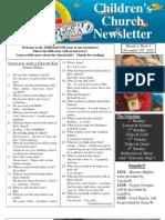 Newsletter 11-18-12