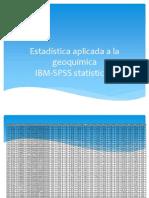 Estadística aplicada a la geoquímica (1)