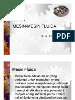 MESIN-MESIN FLUIDA