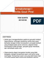 Farmakoterapi I (Artritis Gout)