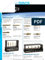 12.BURS and DISCS_Ortho Technology Dealer Product Catalog 2012
