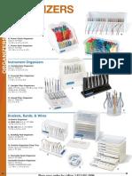 19.ORGANIZERS_Ortho Technology Dealer Product Catalog 2012