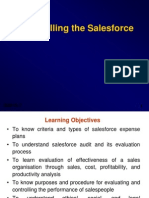 Controlling Salesforce