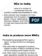 MNCs in India