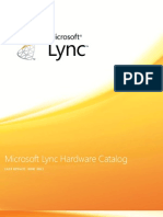 Lync Hardware Catalogue