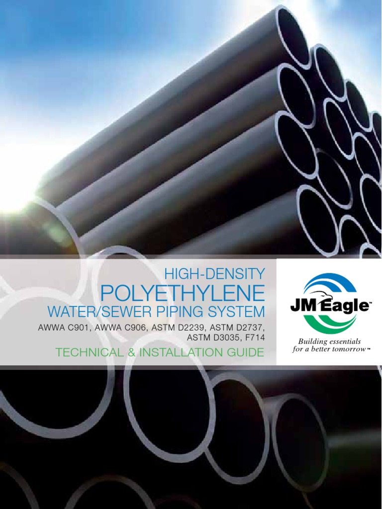 & HDPE Pipe Installation Guide | Leak | Pipe (Fluid Conveyance)