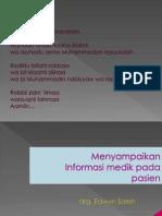 Informasi Medik Pada Pasien New