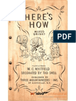1941 - Here's How Mixed Drinks by W.C. Whitfield