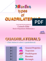Quadrilaterals - Properties