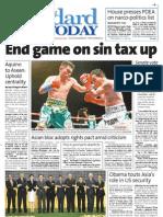 Manila Standard Today - Monday (November 19, 2012) Issue